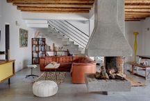 fireplaces / by Crystalyn Bobek Hummel