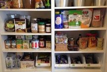Good food in the pantry
