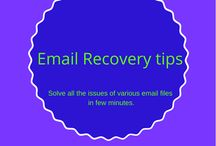 Email Recovery tips