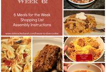 Weeknight dinners / by Katie Usher- DeMeo