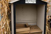 Box storage ideas