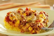 Casseroles and main dishes