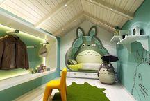Totoro Ponyo e Kiki