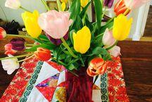 Flowers / flowers on display