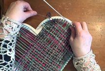 How to weave a heart on Martha Stewart Loom
