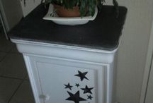 Relooking meuble table de chevet