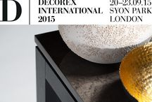 Michael Northcroft Furniture at Decorex 2015 / Syon Park London 20 -23.09.15 Stand H40
