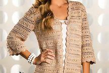 cardigan crochet pattern / t