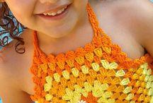 ropa crochet niñas