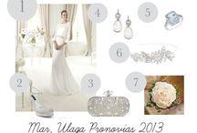 DE POLYVORE / Nuestras propuesta de Polyvore, el estilismo de las novias Dandelion Events.
