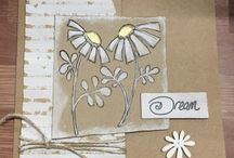 Brand CC: Leonie Pujol / These are not my projects.  They are beautiful projects created by very talented artists using Leonie Pujol's dies, stamps, stencils & supplies produced by Crafters Companion.