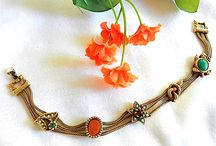 Goldette jewelry / I love this stuff ...how could you not with sixties Victorian revival.