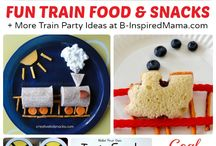 Train themed birthday ideas