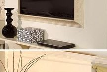 Decorate your flat screen tv