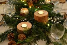 Deco de table Noël