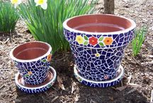 mosaic crafting ideas / by Amy Brown