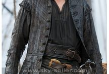 Captain James Flint Black Sails Costume Coat / Get this Caribbean James McGraw Black Sails S3 Leather Coat at most discounted price from Sky-Seller and avail free Shipping.