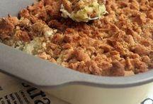 Crumble courgette boursin