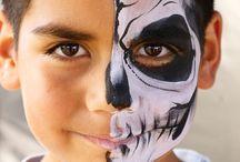 Schminken 1/2 gezicht | Jongen