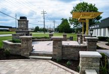 Hardscape Projects / Precision Corporation excels at designing and installing concrete work, working hand-in-hand with our customers to incorporate the design elements that make these new projects natural extensions of the home and landscape.