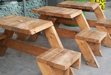 Outdoor Stools & Tables