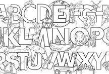 Coloring Pages - Printable / Keep the kids entertained on cold or stormy days indoors with these printable coloring pages.  / by Grandparents.com