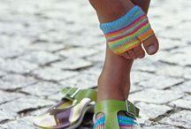 Socken für flipflops
