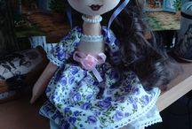 Dolls - Textilní panenky / Moje tvorba a láska - panenky