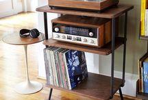 Vinyl corner for mister M!