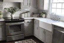 Kitchen style Range & Sink