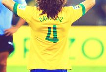 David luiz / by Vik Willems
