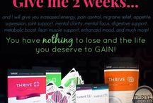 Thrive!!! / by Amanda Plumb