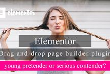Elementor drag and drop page builder plugin