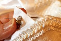 Hand finishing / The finishing touches to the perfect garment are all completed by hand