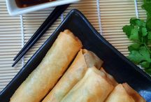 Spring rolls Chinese food