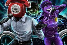 Purple Guy x Phone Guy