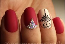 Uñas con diamantes