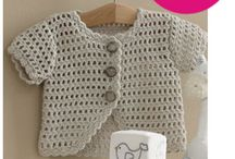 crochet bebés - niños