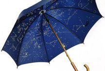 Blue Parasol / Umbrella