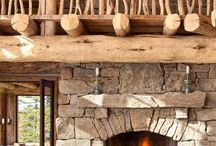 Fireplace / Indoor or outdoors. These fireplaces are absolutely stunning!!