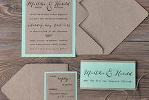 Приглашения на свадьбу в сельском стиле