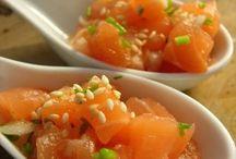 Les 10 plus beaux tartares de saumon / La Délicieuse Découverte de la semaine est au restaurant L'Aviatic, il s'agit du tartare de saumon, mais voyez ce qui est proposé de par le monde!