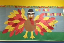 School Crafts and Bulletin Boards