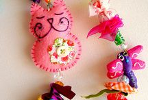 Рукоделки / Craft, DIY / Интересные идеи для рукоделия, красивые вещи. Interesting ideas for crafts, beautiful things.