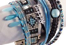 Glasperlenschmuck / Von Hand gefertigter Modeschmuck und Accessoires aus Glasperlen