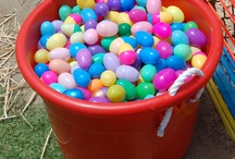Eggstravaganza Event / A wonderful family event with continuous egg hunts!