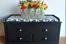 Furniture re-dos / by Sarah Hefner