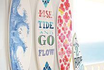 my loo's beach themed bedroom! / by Brandy Hughes Kriss