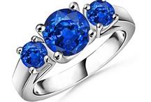 Three Stone Sapphire Rings / #Three Stone Sapphire ring, #sapphire three stone ring, #sapphire ring with diamond.#natural Sapphire #Three Stone Ring, #Three Stone #Sapphire Engagement Rings, #Diamond Sapphire Three Stone Ring