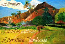 Landscape novels